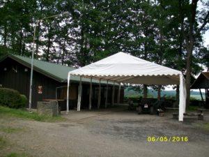 Zelt (Ausleihe beim Hüttenwart)